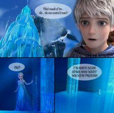 jack frost and elsa | 25 Wisdom Guardian [Jack Frost x Elsa] by angeltorchic on deviantART