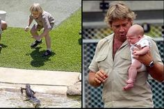 The son of Steve Irwin :]
