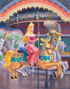A Royal Carousel: Aurora - disney-princess