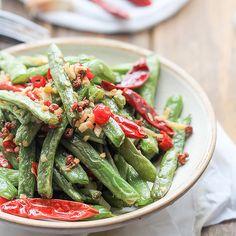 Szechuan Dry-fried Green Beans-Ganbian Sijidou – China Sichuan Food