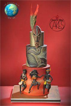 Wedding Cakes - the must read exquisite pin example number 4203550071 Pretty Cakes, Beautiful Cakes, Amazing Cakes, Diy Wedding Cake, Wedding Cake Designs, Wedding Unique, Unique Cakes, Creative Cakes, Africa Cake