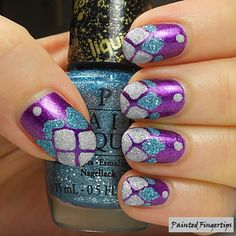 Royal Purple Nails – Fit For a Queen! | Painted Fingertips