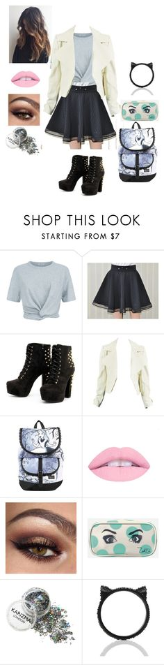 """school"" by tumblrgirl223 on Polyvore featuring T By Alexander Wang, Disney, Zoella Beauty and Kate Spade"