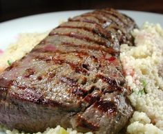 Australian.Food.com: Lamb And Couscous With Pomegranate Molasses