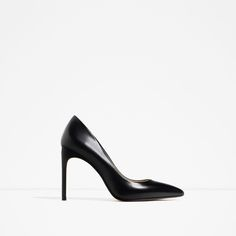 ZARA - WOMAN - LEATHER HIGH HEEL SHOES