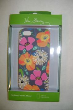 Vera Bradley Jazzy Blooms iPhone 5 5S Hardshell Case Cover NIP | eBay