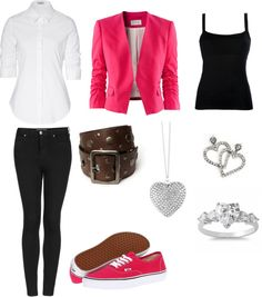 """""""Valentine Outfit"""" by feefeeeverlolz ❤ liked on Polyvore"""