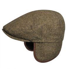 07f9416d5ca Ainsley Earflap Flat Cap