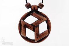 Reiki Jewelry  Antahkarana Symbol Tibetan Spiritual by CristherArt