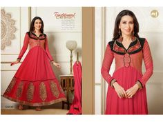 Latest Karishma Kapoor Dresses from Nallu Collection  Nallu Collection is an Online Fashion store based in India. An ethnic store exclusively for women with wide range of collections for Sarees, Salwar Kameez, Anarkali Suits, Lehenga Choli, Bollywood Dress, Bridal Collections, Casual Kurtis, Necklace and Earrings. Karishma Kapoor dresses are the highlight for Nallu Collection with plenty of varieties in Suits and Salwars.