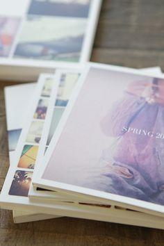 D.I.Y:Instagram pics into a book