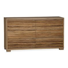 Sierra Six Drawer Dresser | Crate And Barrel