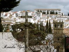 Another wonderful white town in southern Spain.