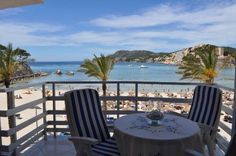 Balkonblick - Ferienwohnung Malloperle in Spanien, Balearen, Mallorca