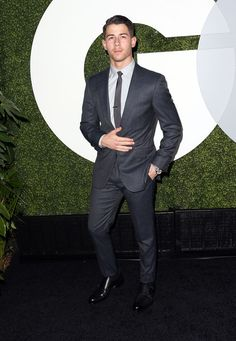 Nick Jonas - GQ Men of the Year Party #suits