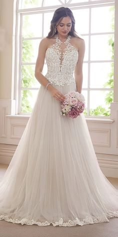 Gorgeous wedding dresses from Sophia Tolli . - Beautiful wedding dresses by Sophia Tolli … Marvelous Sophia Great … - Gorgeous Wedding Dress, Dream Wedding Dresses, Designer Wedding Dresses, Bridal Dresses, Lace Dresses, Beautiful Dresses, Wedding Gowns, Bridesmaid Dresses, Lace Wedding