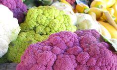 Lila Blumenkohl gefällig? Foto: Doris Broccoli, Cauliflower, Vegetables, Food, Lilac, Fruit Salad, Head Of Cauliflower, Fish, Cauliflowers