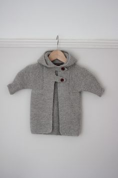 Cardigan for Baby Asher Pattern - Elizabeth Zimmerman.