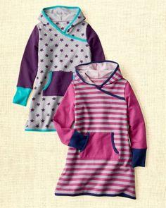 Hooded Sweatshirt Dress - Girls