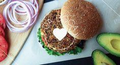 Da Boca Coração   Saudáveis Hambúrgueres