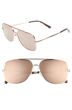 768577ae3f Loving these cool mirrored sunglasses! Cool Mirrors, Nordstrom Anniversary  Sale, Travel Essentials,