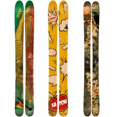 MY SKIS!!     RAMP Sports - Rapid prototyping and Kevlar construction underscore a line of handmade skis