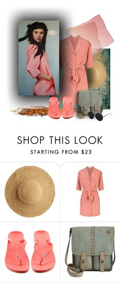 """Flip this Artist"" by kathy-martenson-sanko ❤ liked on Polyvore featuring Flora Bella, Reiss, IPANEMA and Patricia Nash"