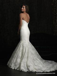 Particular Allure Bridals 8970 Lace Mermaid Wedding Dress | Trumpet Mermaid Wedding Dresses from Our Site