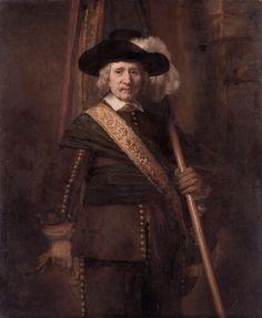 The Standard Bearer - Rembrandt van Rijn