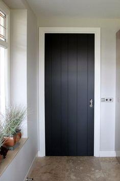 Innentüren # – # Frank # of # den # Booms # Türen - Lilly is Love The Doors, Windows And Doors, Painted Doors, Wooden Doors, Interior Door Styles, Interior Design, Black Interior Doors, Modern Entrance Door, Black Doors