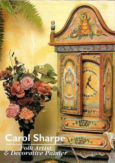 Журнал: Australian Folk Art & Decorative Painting vol.01,2 - рисование,графика,арт.. - ИСКУССТВУ БЫТЬ - Каталог статей - ЛИНИИ ЖИЗНИ