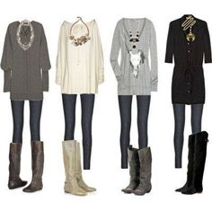 Winter layer combos