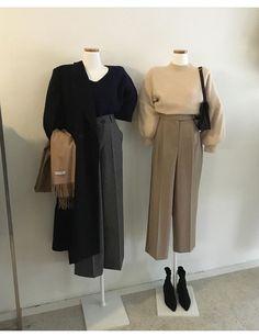 Work Fashion, Modest Fashion, Fashion Dresses, Fashion Looks, Mode Outfits, Korean Outfits, Fall Outfits, Ulzzang Fashion, Hijab Fashion