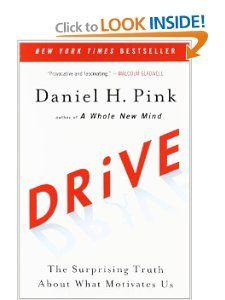 Amazon.com: Drive: The Surprising Truth About What Motivates Us (9781594484803): Daniel H. Pink: Books