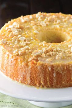 A fluffy vanilla chiffon cake with a simple, citrusy orange glaze is the perfect light dessert you can enjoy guilt-free. Ring in the new year with all of the healthier recipes you've been dying to try, without missing out on any delicious and satisfying treats.
