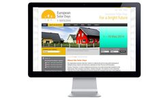 double-id communication in Brussels develops the Solar Days website: graphic design, technical development (Joomla). We are specialised in EU Associations. Communication Agency, I Site, Bright Future, Brussels, Solar, Graphic Design, Day, Advertising Agency, Sun