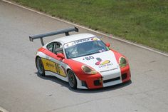 #80-2001 Porsche 996 RS 3800cc of Danny Marshall  at VIR May 2016- photo by Lewis Adams