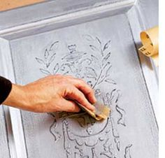 How to do relief stencilling
