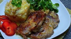 veprova-krkovice-medovo-horcicna-omacka Steak, Pork, Chicken, Kale Stir Fry, Steaks, Pork Chops, Cubs