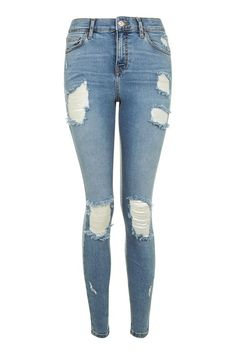 MOTO Bleach Super Ripped Jamie Jeans