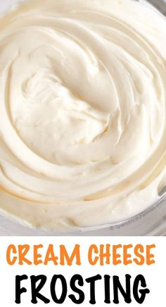 This is the best ever Cream Cheese Frosting. It's rich and creamy with just the right amount of sweetness and a hint of lemon. This is the perfect topper for banana cake, red velvet, carrot cake and so much more! Canned Frosting, Lemon Cream Cheese Frosting, Make Cream Cheese, Homemade Frosting, Cream Cheese Recipes, Frosting Recipes, Cream Frosting, Cake Recipes, Cupcakes