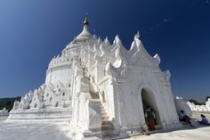 Hsinbyume pagoda at Mingun - Myanmar (Burma) Yangon, Gifts For Photographers, Square Photos, Flash Photography, Mandalay, Photo Checks, Best Memories, Taking Pictures, Architecture Details