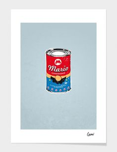 """""""C-mario"""" - Limited Edition Print by Grégoire GUILLEMIN for Curioos"""
