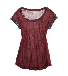 Aerie Embellished Tee   Aerie for American Eagle