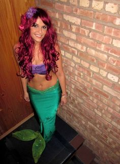 #Halloween #costume #Little #mermaid #Ariel  sc 1 st  Pinterest & 74 best Ariel images on Pinterest | Little mermaids Ariel cosplay ...