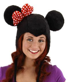 Look what I found on #zulily! Minnie Mouse Earflap Beanie #zulilyfinds