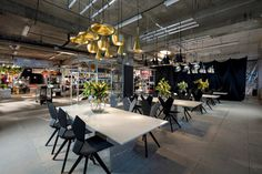 Tom Dixon Launches Multiplex Pop-up Department Store In Disused London Hotel - http://decor10blog.com/decorating-ideas/tom-dixon-launches-multiplex-pop-up-department-store-in-disused-london-hotel.html
