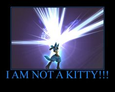 That's funny because I named my lucario in pokemon x after my cat Howl.
