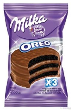 Chocolate packaging Design should be bold and sharp, though few chocolate brands encourage elegant and classy looking font for premium packs. Milka Chocolate, Chocolate Brands, Oreo Flavors, Cookie Flavors, Food Packaging Design, Coffee Packaging, Bottle Packaging, Comida Disney, 17 Kpop