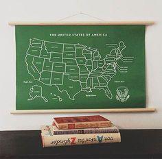 DIY Vintage School Chart // via spoonflower